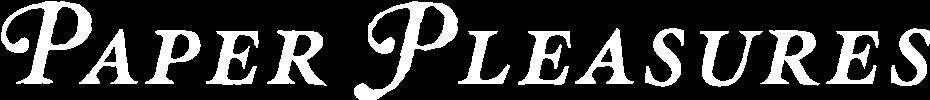 Paper Pleasures Logo