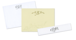 Personal stationery header graphic