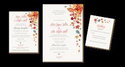 wedding stationery heading graphic